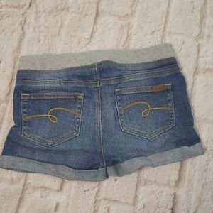 Justice Girls Jeans shorts size 14R
